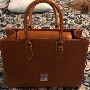 Dooney Florentine toscana leather satchel
